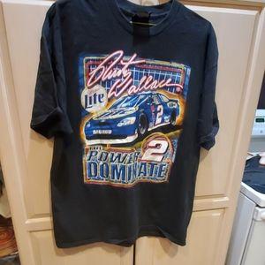 Wallace race car t shirt